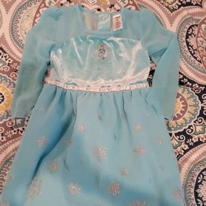 Disney frozen Elsa dress costume